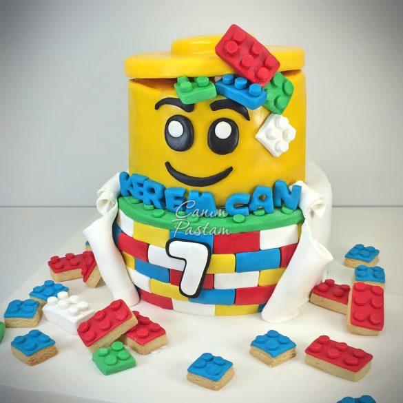 Lego Cake Lego Box Cake