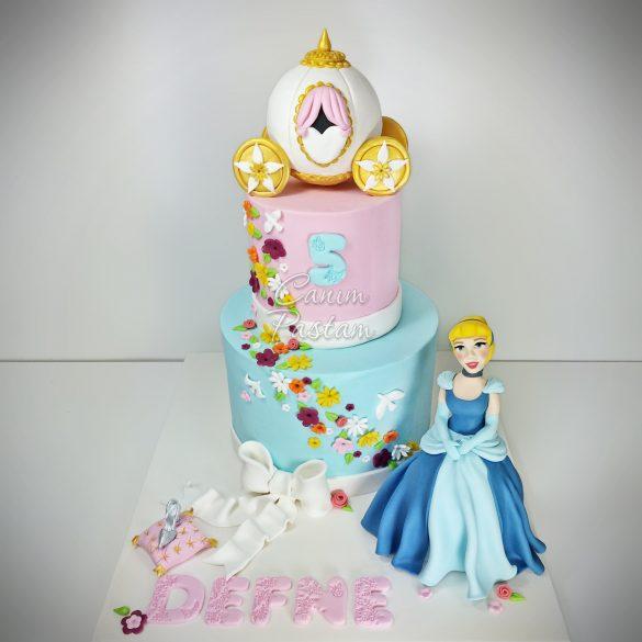 Cindrella Cake Disney Princess Cake Disney Prenses Pastası