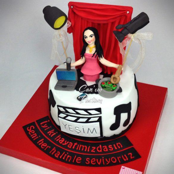 Star Cake Actress Cake